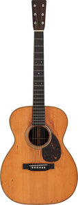 Musical Instruments:Acoustic Guitars, 1929 Martin OM-28 Natural Acoustic Guitar, Serial # 40167....