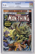 Bronze Age (1970-1979):Horror, Man-Thing #10 (Marvel, 1974) CGC NM+ 9.6 White pages....
