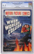 Golden Age (1938-1955):Science Fiction, Motion Picture Comics #110 When Worlds Collide (Fawcett, 1952) CGC FN+ 6.5 Cream to off-white pages....