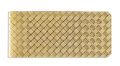 Estate Jewelry:Objects d'Art, Gold Money Clip. The 14k yellow gold money clip has a woven design.Gross weight 28.00 grams.. Dimensions: 2-1/4 inches ... (Total:1 Item)