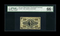 Fractional Currency:Third Issue, Fr. 1255 10c Third Issue PMG Gem Uncirculated 66 EPQ....