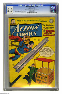 Action Comics #159 (DC, 1951) CGC VG/FN 5.0 Off-white pages. Win Mortimer cover. Wayne Boring, Curt Swan, and Bob Brown...
