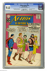 Action Comics #279 (DC, 1961) CGC VF/NM 9.0 Cream to off-white pages. Lex Luthor appearance. Curt Swan cover. John Forte...