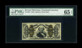 Fractional Currency:Third Issue, Fr. 1339 50c Third Issue Spinner Type II PMG Gem Uncirculated 65 EPQ....