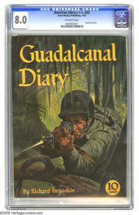 American Library Guadalcanal Diary (David McKay Publications, 1943) CGC VF 8.0 Off-white pages. Overstreet 2005 VF 8.0 v...