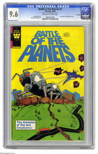 Battle of the Planets #7 File Copy (Gold Key, 1980) CGC NM+ 9.6 Off-white to white pages. Win Mortimer art. Distributed...