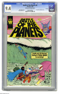 Battle of the Planets #8 File Copy (Gold Key, 1980) CGC NM 9.4 Off-white to white pages. Win Mortimer art. Distributed i...