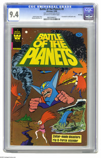 Battle of the Planets #9 File Copy (Gold Key, 1980) CGC NM 9.4 Off-white to white pages. Win Mortimer art. Distributed i...