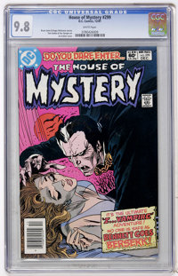 House of Mystery #299 (DC, 1981) CGC NM/MT 9.8 White pages