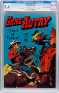 Golden Age (1938-1955):Western, Four Color #66 Gene Autry - Mile High Pedigree (Dell, 1945) CGC NM 9.4 Off-white to white pages....