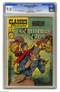 Golden Age (1938-1955):Classics Illustrated, Classics Illustrated #53 A Christmas Carol (Gilberton, 1948) CGC VF/NM 9.0 Off-white pages. Original and only edition. H. C....