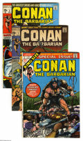 Bronze Age (1970-1979):Miscellaneous, Conan the Barbarian Group (Marvel, 1970-76) Condition: AverageFN/VF. Extra-large 54-issue group lot includes #1 (first comi...(54 Comic Books)