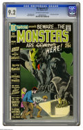 Bronze Age (1970-1979):Horror, DC Special #11 (DC, 1971) CGC NM- 9.2 Off-white to white pages.Test story by Len Wein. Neal Adams cover. Sergio Aragones ar...