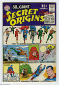 "Silver Age (1956-1969):Superhero, 80 Page Giant #8 (DC, 1965) Condition: FN/VF. ""More Secret Origins."" Featuring the Justice League of America, Aquaman, the F..."