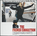"Movie Posters:Academy Award Winner, The French Connection (20th Century Fox, 1971). Six Sheet (81"" X81""). Academy Award Winner...."