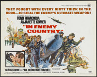 "In Enemy Country (Universal, 1968). Half Sheet (22"" X 28""). Action"
