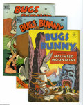 "Golden Age (1938-1955):Cartoon Character, Four Color Bugs Bunny Group (Dell, 1947-51) Condition: AverageVG/FN. Six-issue group includes #142 (""Bugs Bunny and the Hau... (6Comic Books)"