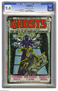 Bronze Age (1970-1979):Horror, Ghosts #3 (DC, 1972) CGC NM 9.4 Off-white to white pages. NickCardy cover. Tony DeZuniga, Jerry Grandenetti, and George Tus...