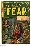 Golden Age (1938-1955):Horror, Haunt of Fear #18 (EC, 1953) Condition: VG+. Ray Bradbury biographyand story adaptations. Graham Ingels cover; interior art...