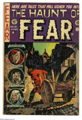 Golden Age (1938-1955):Horror, Haunt of Fear #21 (EC, 1953) Condition: FN. Graham Ingels cover.Art by Ingels, Jack Davis, and Reed Crandall, plus a collab...