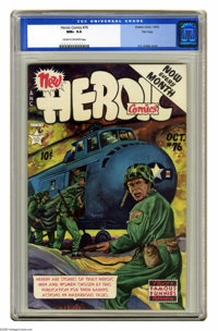 Heroic Comics #76 File Copy (Eastern Color, 1952) CGC NM+ 9.6 Cream to off-white pages. H. C. Kiefer cover. Overstreet 2...