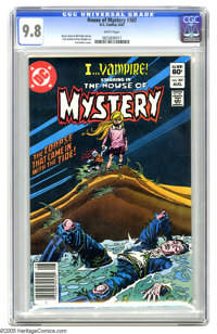 House of Mystery #307 (DC, 1982) CGC NM/MT 9.8 White pages. Joe Kubert cover. Tom Sutton and Dan Spiegle art. Overstreet...