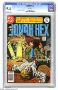 Bronze Age (1970-1979):Western, Jonah Hex #1 (DC, 1977) CGC NM+ 9.6 White pages. Jose Garcia-Lopez cover and art. Overstreet 2005 NM- 9.2 value = $150. CGC ...