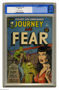 Golden Age (1938-1955):Horror, Journey Into Fear #2 (Superior, 1951) CGC VG+ 4.5 Cream tooff-white pages. Overstreet 2005 VG 4.0 value = $92. CGC census7...