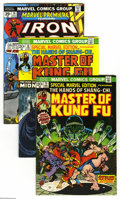 Bronze Age (1970-1979):Miscellaneous, Marvel Martial Arts Group (Marvel, 1972-82) Condition: AverageFN/VF. Fifteen-issue lot includes Special Marvel Edition ... (15Comic Books)