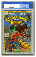 Bronze Age (1970-1979):Superhero, Marvel Team-Up #12 (Marvel, 1973) CGC NM 9.4 Off-white to white pages. Ross Andru art. Overstreet 2005 NM- 9.2 value = $30. ...