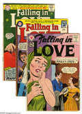 Silver Age (1956-1969):Romance, Miscellaneous Silver Age Romance Group (Various, 1961-66)Condition: Average GD. Seventeen-issue lot includes Falling in L...(17 Comic Books)