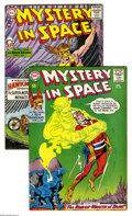 Silver Age (1956-1969):Science Fiction, Mystery in Space #88 and 89 Group (DC, 1963-64) Condition: Average VF+. Included here is #88 and 89, both featuring Adam Str... (2 Comic Books)