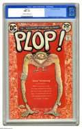 Modern Age (1980-Present):Humor, Plop! #1 (DC, 1973) CGC NM+ 9.6 Off-white to white pages. BasilWolverton cover. Bernie Wrightson, George Evans, and Sergio ...