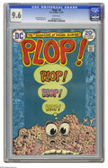 Bronze Age (1970-1979):Humor, Plop! #3 (DC, 1974) CGC NM+ 9.6 White pages. Basil Wolverton cover.Sergio Aragones art. Overstreet 2005 NM- 9.2 value = $20...