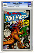 Silver Age (1956-1969):Science Fiction, Rip Hunter Time Master #1 (DC, 1961) CGC VF 8.0 Light tan tooff-white pages. Ross Andru and Mike Esposito cover and art. Ov...