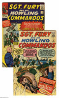 Silver Age (1956-1969):War, Sgt. Fury and His Howling Commandos #3 and 4 Group (Marvel, 1963) Condition: Average FN/VF. Selection of two issues includes... (2 Comic Books)
