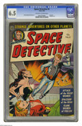 Golden Age (1938-1955):Science Fiction, Space Detective #4 (Avon, 1952) CGC FN+ 6.5 Off-white to white pages. Last issue. Bondage cover. Everett Raymond Kinstler ar...