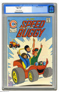 Bronze Age (1970-1979):Cartoon Character, Speed Buggy #1 (Charlton, 1975) CGC NM+ 9.6 Off-white to whitepages. Overstreet 2005 NM- 9.2 value = $28. CGC census 7/05: ...