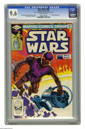 Modern Age (1980-Present):Science Fiction, Star Wars #58 (Marvel, 1982) CGC NM+ 9.6 Off-white pages. ShiraBrie appearance. Walt Simonson cover and art. Overstreet 200...