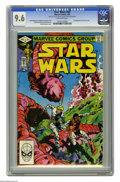 Modern Age (1980-Present):Science Fiction, Star Wars #59 (Marvel, 1982) CGC NM+ 9.6. First appearance of OrionFerret. Walt Simonson cover and art. Overstreet 2005 NM-...