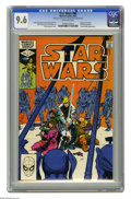 Modern Age (1980-Present):Science Fiction, Star Wars #60 (Marvel, 1982) CGC NM+ 9.6 Off-white pages. Origin ofShira Brie. Walter Simonson cover and art. Overstreet 20...
