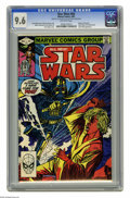 Modern Age (1980-Present):Science Fiction, Star Wars #63 (Marvel, 1982) CGC NM+ 9.6 Off-white pages. Return ofShirah Brie. Darth Vader appearance. Tom Palmer cover. P...