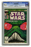 """Modern Age (1980-Present):Science Fiction, Star Wars #64 (Marvel, 1982) CGC NM+ 9.6 Off-white pages. Firstappearance of Elglih, King S'Shah, and Cinda Tarheel. """"Death..."""