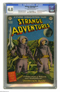 "Golden Age (1938-1955):Science Fiction, Strange Adventures #1 (DC, 1950) CGC VG 4.0 Cream to off-whitepages. ""Destination Moon"" movie adaptation and photo cover. H..."