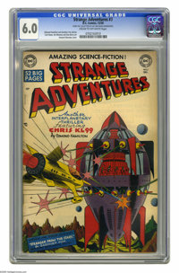 Strange Adventures #3 (DC, 1950) CGC FN 6.0 Cream to off-white pages. Howard Sherman cover. Curt Swan, Jim Mooney, and D...