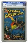 Golden Age (1938-1955):Science Fiction, Strange Adventures #4 (DC, 1951) CGC FN- 5.5 Cream to off-whitepages. Curt Swan and Howard Sherman art. Overstreet 2005 FN ...