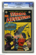 Golden Age (1938-1955):Science Fiction, Strange Adventures #7 (DC, 1951) CGC FN+ 6.5 Cream to off-whitepages. Origin of Kris KL-99. Bob Oksner cover. Jim Mooney, G...
