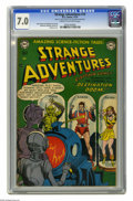 Golden Age (1938-1955):Science Fiction, Strange Adventures #14 (DC, 1951) CGC FN/VF 7.0 Cream to off-whitepages. Gil Kane cover. Murphy Anderson, Carmine Infantino...
