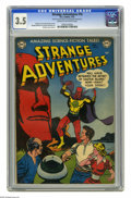 Golden Age (1938-1955):Science Fiction, Strange Adventures #16 (DC, 1952) CGC VG- 3.5 Cream to off-whitepages. Gil KAne cover. Kane, Murphy Anderson, and Carmine I...