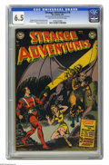 Golden Age (1938-1955):Science Fiction, Strange Adventures #18 (DC, 1952) CGC FN+ 6.5 Light tan tooff-white pages. Murphy Anderson cover. Anderson, CarmineInfanti...